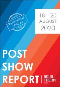 AquaTherm 2020 post show report